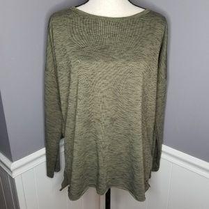 Betsey Johnson | Olive Oversized Sweatshirt